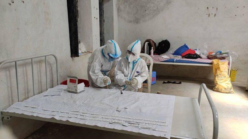बारेकोटमा ५५ जनाको कोरोना रिपोर्ट 'नेगेटिभ'