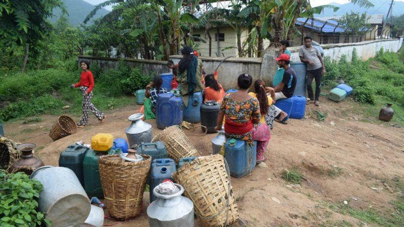 पानी भर्न रातभर जाग्राम