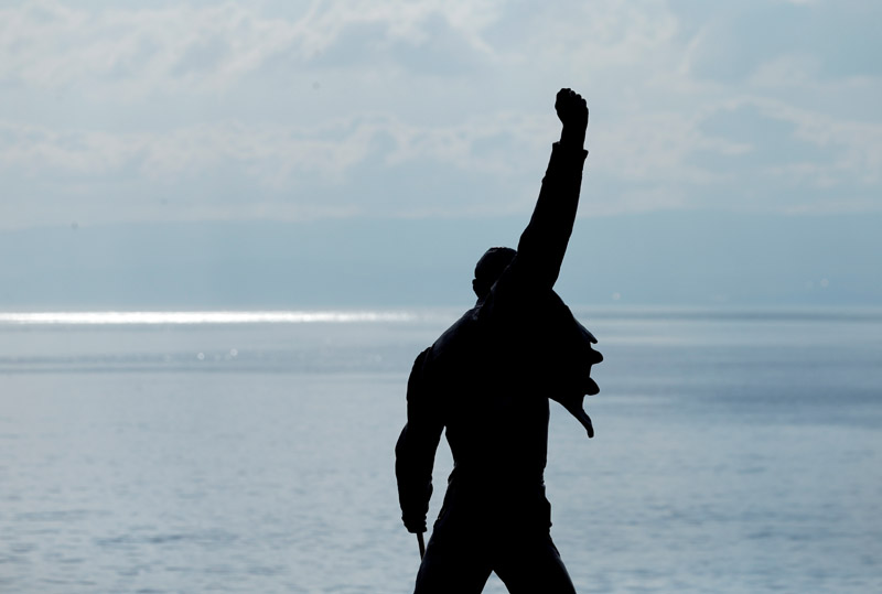 Freddie Mercury returns in release of stripped-back version of 'Time'