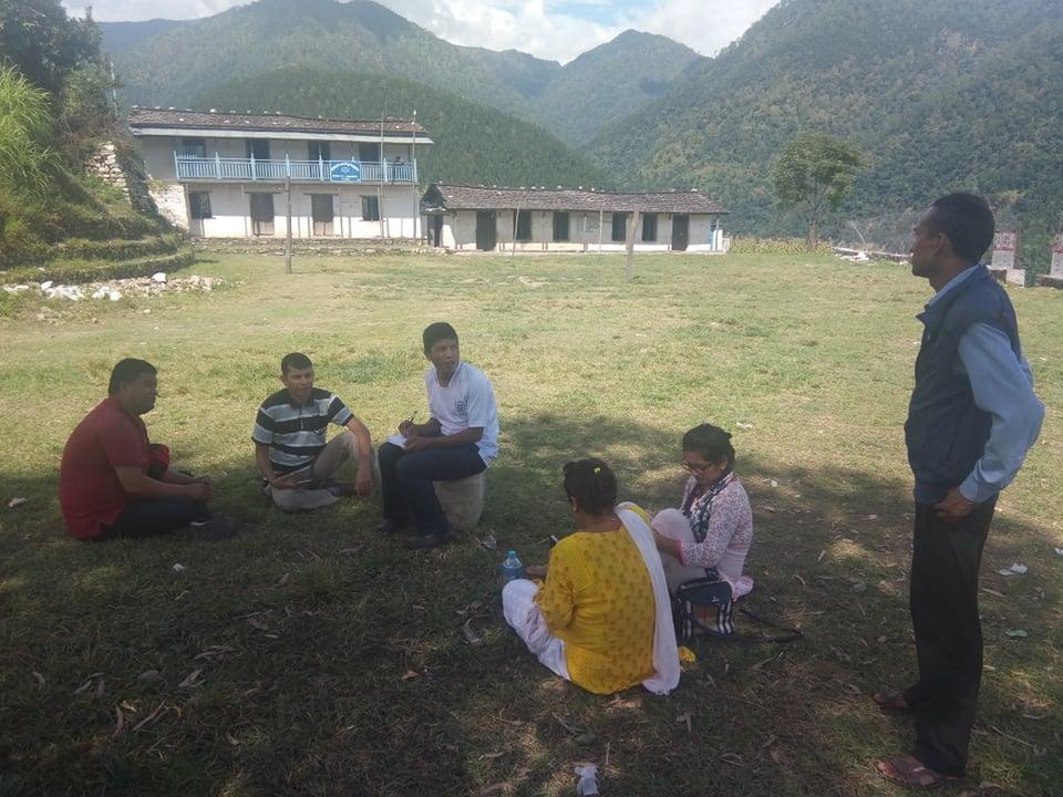 सुस्त श्रवण कक्षा संचालनका लागि नागरिक संजालको अनुगमन