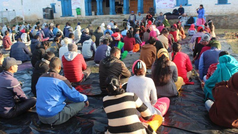 जाजरकोटमा मनाईयो पाँचौ राष्ट्रिय योग दिवस