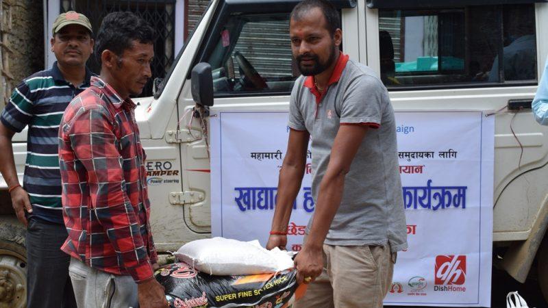 कर्णालीमा भोक विरुद्ध सहायता अभियान जाजरकोटबाट शुरु