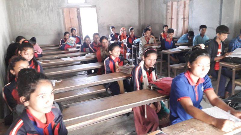 कुशेमा जोर विजोर कक्षा अनुसार पठनपाठन
