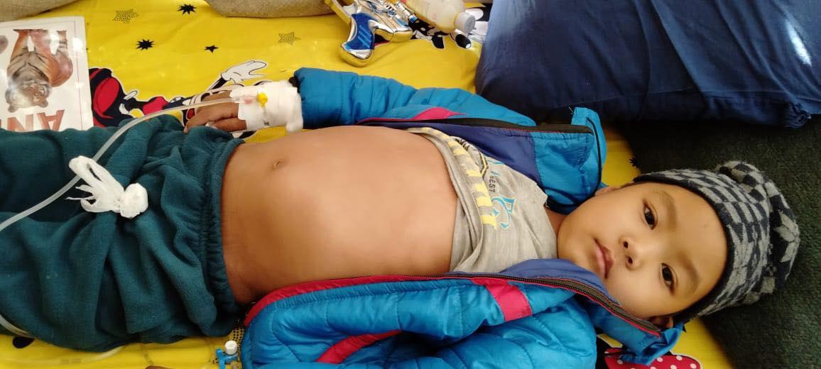 क्यान्सर पिडित बालकको सहयोगार्थ एक कप चिया अभियान
