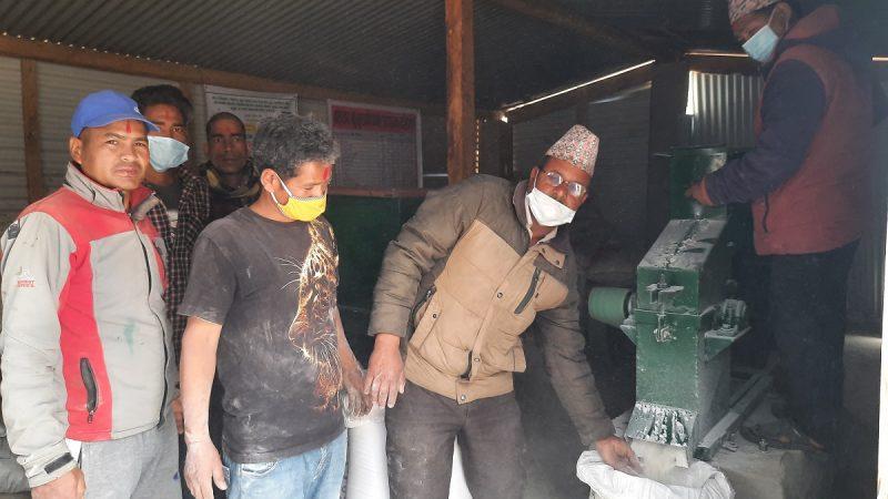 जाजरकोटमा पहिलो कुखुरा दाना उद्योग स्थापना