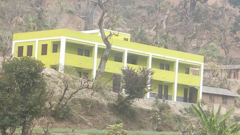 राउन्ड टेवल नेपालले बनायो दुर्गममा विद्यालय भवन