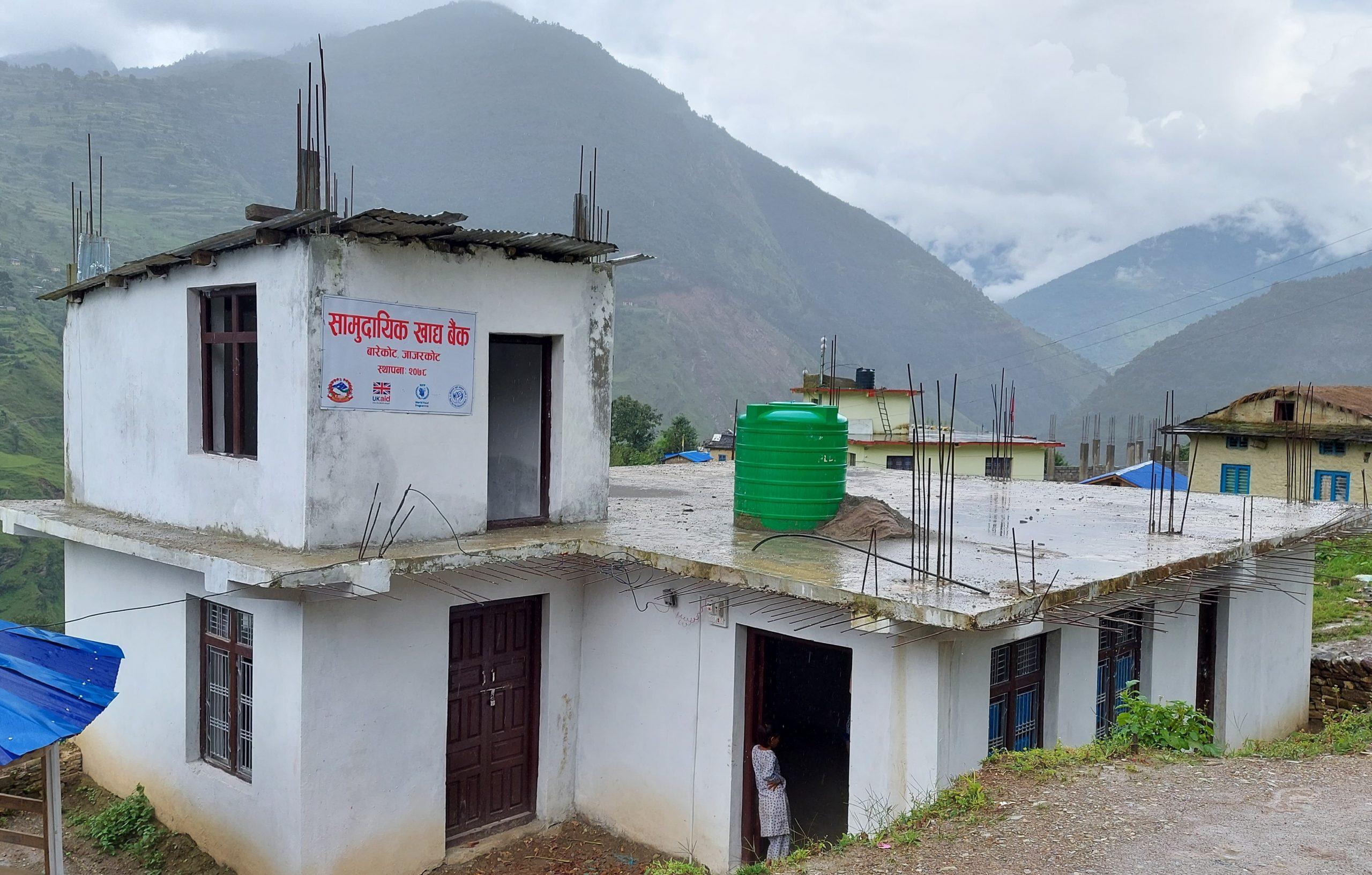 बारेकोटमा सामुदायिक खाद्य बैंक स्थापना